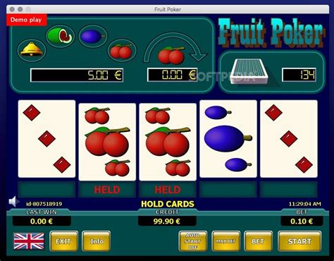 fruit poker classic zones