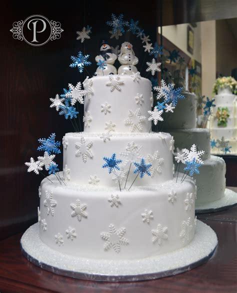 Winter Wonderland Cakes Palermos Custom Cakes And Bakery