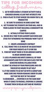 Prep In Your Step: Tips For Incoming College Freshmen ...