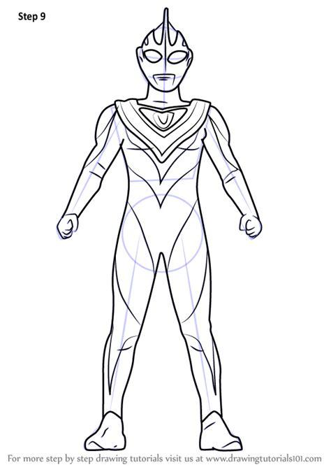 learn   draw ultraman gaia ultraman step  step drawing tutorials