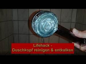 Duschkopf Entkalken Tüte : duschkopf entkalken und reinigen ohne abschrauben duschbrause sauber machen haushalttipp ~ Markanthonyermac.com Haus und Dekorationen