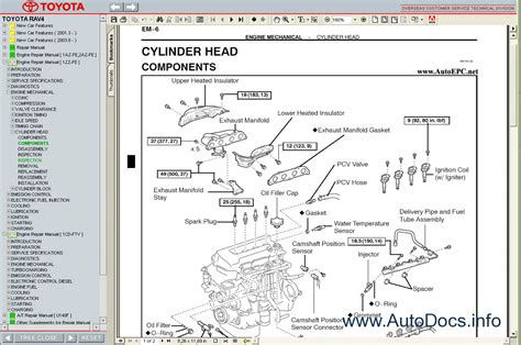 car repair manuals online pdf 2005 toyota rav4 lane departure warning toyota rav4 2000 2005 service manual repair manual order download