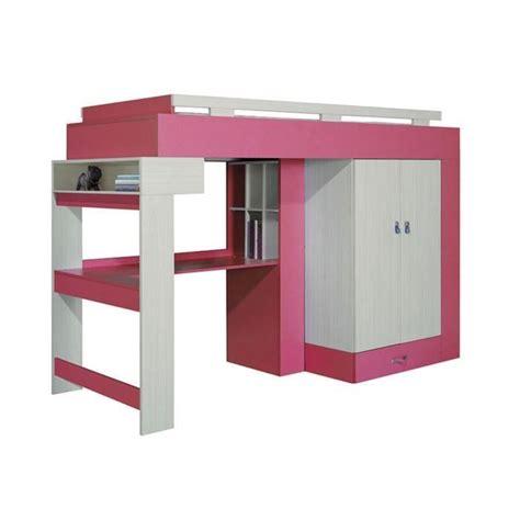 lit combiné armoire bureau lit combine bureau topiwall