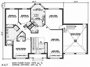 bay window small house bungalow one story bungalow house With small 1 story house plans