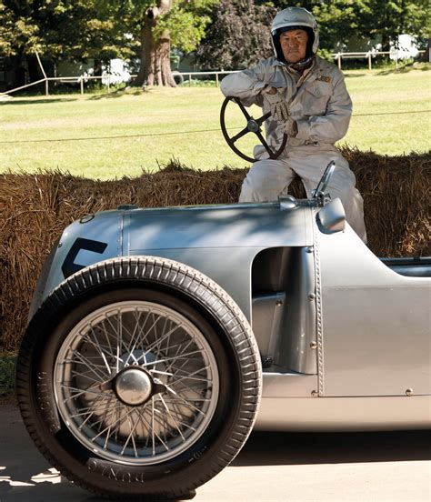 1936 Auto Union Type C And Pink Floyd Drummer Nick Eurocar