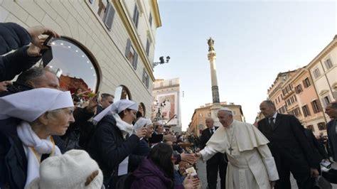 paven  den obeflaeckade jungfru maria beskydda staden
