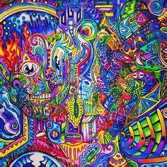 Trippy skull art Skulls Pinterest