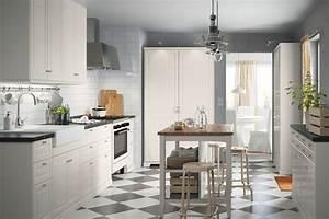 Ikea Cuisine Blanche : une cuisine blanche cuisine ikea 2017 des cuisines qui donnent envie de mitonner linternaute ~ Melissatoandfro.com Idées de Décoration