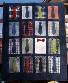 Shirt and Tie Quilt