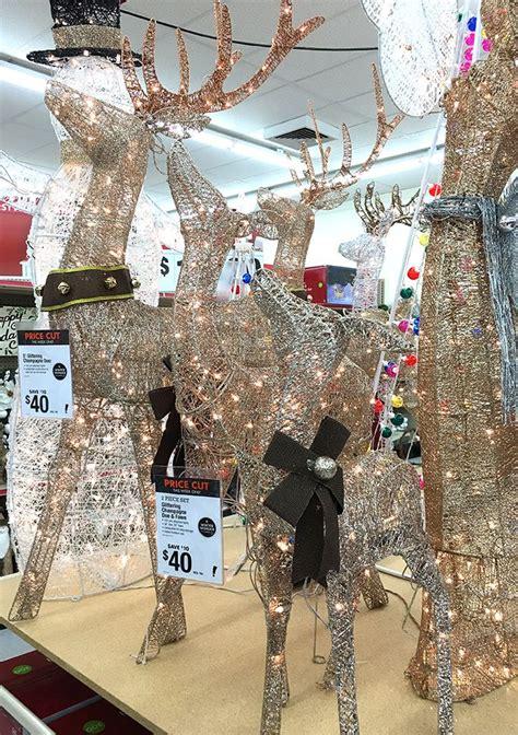 unique outdoor christmas reindeer ideas  pinterest
