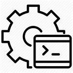 Automation Testing Test Development Icon Script Code