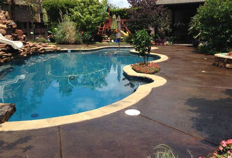Stained Concrete Designs
