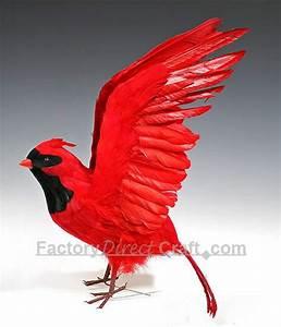 Flying Red Bird
