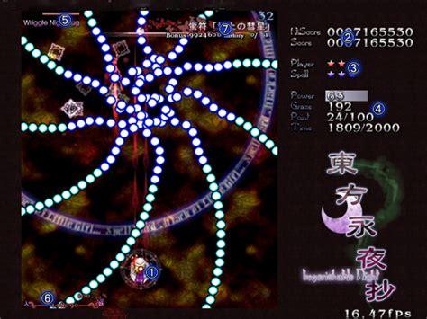 imperishable nightgameplay touhou project wiki