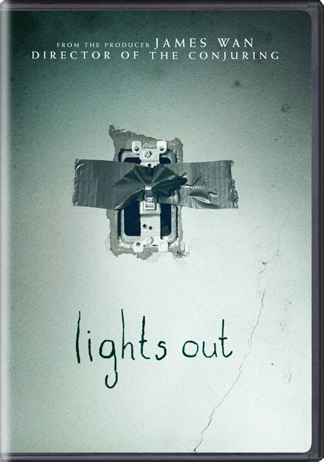 Lights Out Cover by Lights Out Dvd Release Date October 25 2016