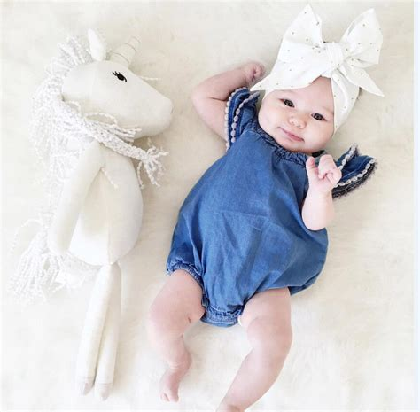 cute newborn baby girl lace romper clothes infant