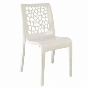 Chaise De Jardin Design : chaise design tulipe grosfillex ~ Teatrodelosmanantiales.com Idées de Décoration
