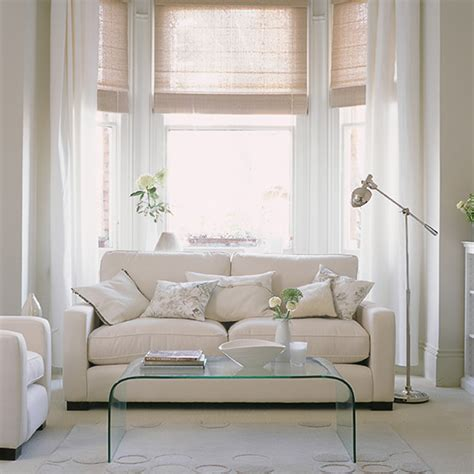 Ideas For Living Room With White Furniture by White Living Room Ideas Ideal Home