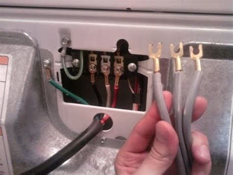 How Replace Dryer Cord Youtube