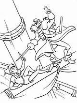 Coloring Pages Pan Peter Printable Disney Peterpan Recommended Colors sketch template
