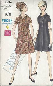 1960s vintage vogue sewing pattern b34 dress 1067 the