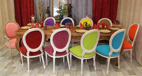 chaises de couleur les meubles nayar fabricant de chaises mdaillon de style