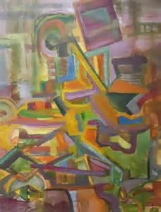 Abstract Still Life Art Painting