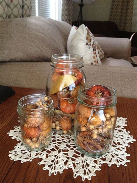fall centerpieces with jars 47 best home frugal fall decor images on pinterest decorating ideas craft and xmas