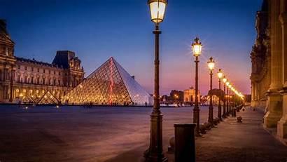 Paris Street Lights Night Wallpapers Pyramid Avenue