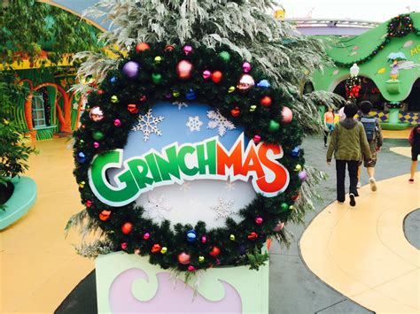 grinchmas decorations observations from the universal orlando resort grinchmas
