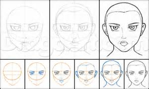 How to Draw Anime Faces Step by Step