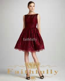 crimson bridesmaid dresses lace prom dress dresses trend