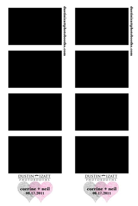 photo booth templates free photo booth designs 187 dustin izatt photo booths rentals for utah weddings and events