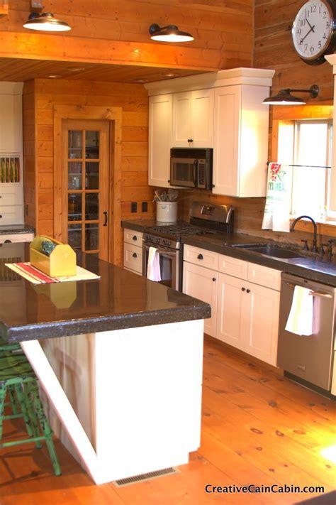 pin  libba saylors  farmhouses log home kitchens