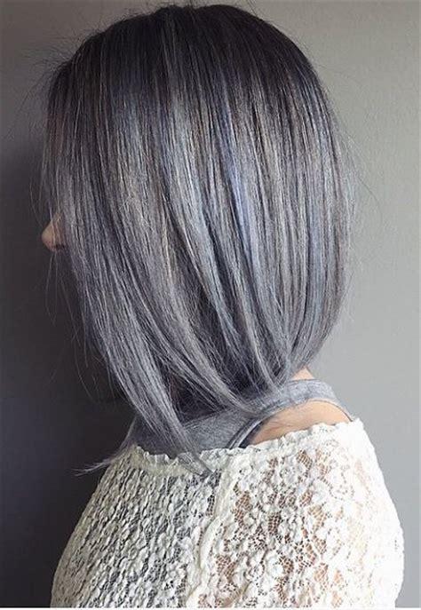 Best 25 Blue Grey Hair Ideas On Pinterest