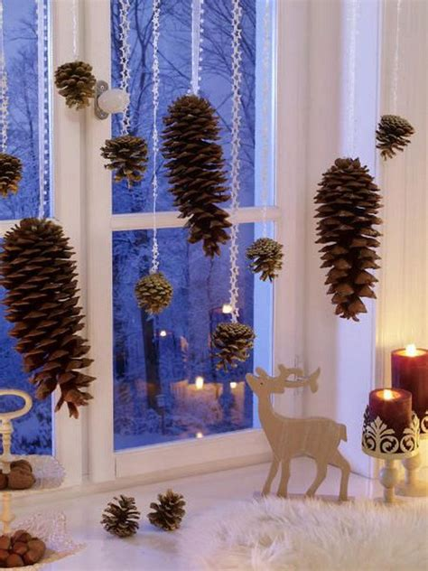 festive diy pine cone decorating ideas