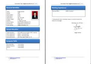 contoh resume yang baik dan ringkas cv anggieherdian anggiepedia