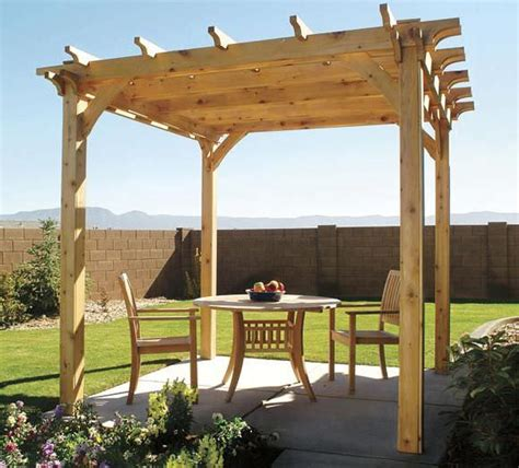 how to build the pergola the garden glove