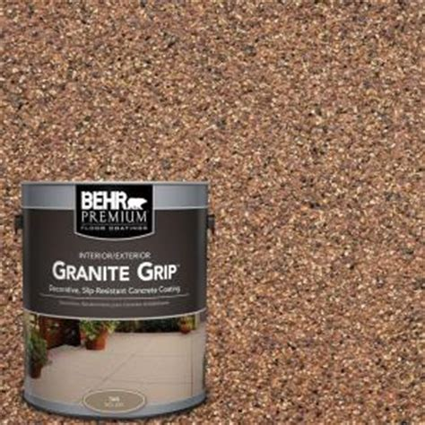 behr premium 1 gal gg 10 copper marble granite grip