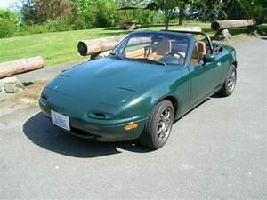 1991 British Racing Green Special Edition Mazda Miata With