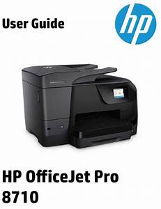 Hp Officejet Pro 8710 User Manual