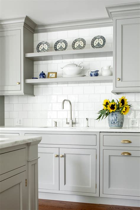 light gray kitchen cabinets custom kitchen with gray cabinets home bunch interior