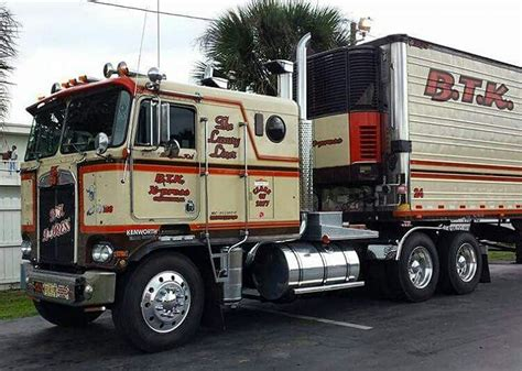 big kenworth trucks coe kenworth custom k100 with matchin reefer kenworth