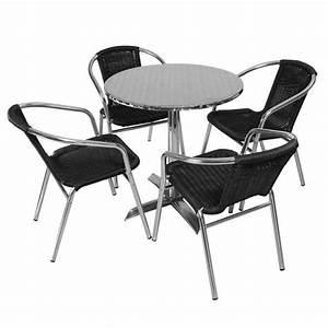 Salon De Jardin Bistrot : table et chaises bistrot achat vente table et chaises bistrot pas cher cdiscount ~ Teatrodelosmanantiales.com Idées de Décoration