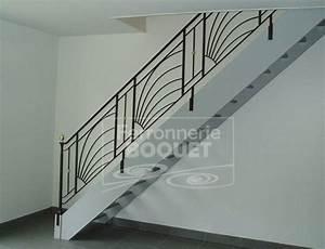 Garde Corp Escalier : rampes garde corps ferronnerie boquet ~ Dallasstarsshop.com Idées de Décoration