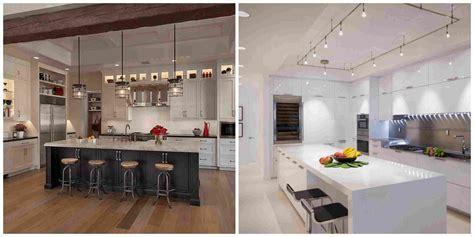 eclairage cuisine îlot de cuisine et plan de travail 9 idées d 39 éclairage