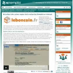 Bon Coin Recherche Emploi Menage : sites offres d 39 emploi pearltrees ~ Dailycaller-alerts.com Idées de Décoration