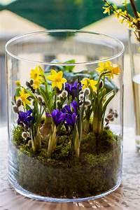 Frühlingsdeko Im Glas : pin von andrea g auf fr hling ~ Orissabook.com Haus und Dekorationen