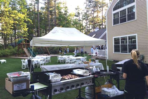 The Backyard Catering by Grill Catering Hanover Ma Tailgators Llc