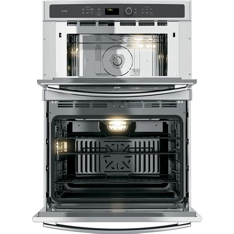 ge profile  cu ft built  combination convection microwaveconvection wall oven stainless